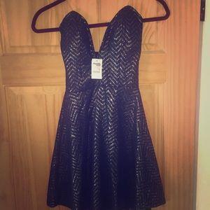 Cute night dress Navy! Brand new !!